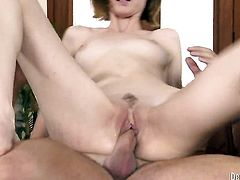 Jay Taylor is never enough and takes guys throbbing sausage in her mouth again and again