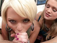 Heather Starlet gulps guys erect love stick