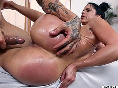 latina milf gets pounded hard