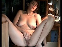 Canadian Housewife Ava fingering to orgasm