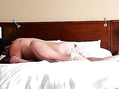 Manuel Ferrara gives breathtakingly hot Blair Williamss mouth a try in oral action
