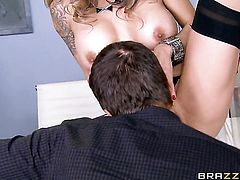Milf chachita Nadia Styles with big boobs is one oral slut that gives guys meaty love torpedo a try