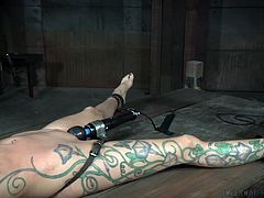 Rain DeGrey was dominated, punished and humiliated in a dungeon. Going by her body language, she liked it very much. Master tortured her nipples and placed a vibrator on her clit. This experience is new to Rain and after the session, she admitted that this is her best sex session so far.