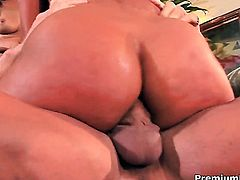 Sandra Romain finds herself getting dicked by hot man