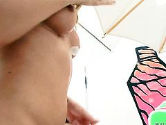 Asian Jayden Lee is horny as hell and fucks with wild desire in this anal action