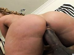 Blonde Flower Tucci gets her cunt slammed good and hard by her man in a wide variety of sex positions
