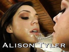 Fuck crazed exotic hussy London Keyes and horny dude are two sex addicts that make each other happy in interracial hardcore action