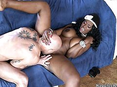 Tattoos Nyomi Banxxx makes a dirty dream of never-ending interracial fucking a reality