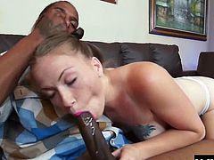 Karen Fisher loves putting her hair in pigtails in the morning and then hitting the town on her tiny little bicycle. She always ends up getting picked up by a hot stranger, and today its a black man with a dark chocolate cock she cant wait to bend over for