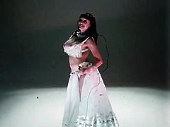 Areolae Alert Belly Dance!