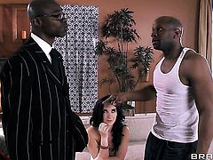 Sean Michaels  Prince Yashua with huge tits cant stop fucking in interracial hardcore action