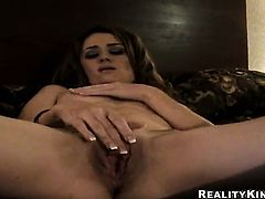 Brunette Jessica Young eat dudes love stick with wild desire