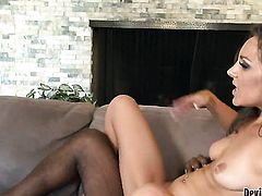 Kiera King is so wet and so horny that fucks like a sex crazed animal