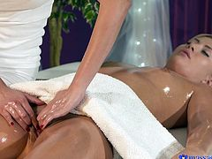 I am Paula Shy, the hot and sexy massage girl. My specialty is lesbian sex during oily massage. If you lay down nude, I will massage your chest in the most sensual manner. You will orgasm, when I will put my fingers in your pussy and stimulate your clitoris. I will expose my boobs, and kiss your lips, as a bonus.