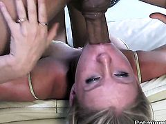 Milf finds man sexy and takes his hard fuck stick in her mouth