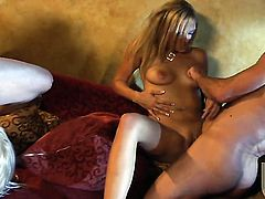 Tanya James asks her man to bang her sweet mouth
