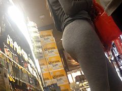 Phat Teen Pawg Booty Buying Alchohol