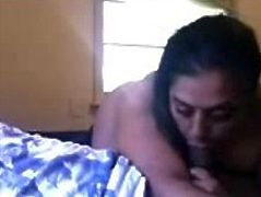 Awesome blowjob from punjabi not sister in law