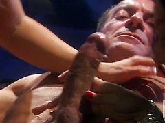 Roxy DeVille is too hot to stop sucking her mans hard sausage