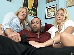 Charlee Chase gets the pleasure from pussy stuffing with hot dude like never before