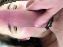 Me using a sweet, submissive hotwife's mouth