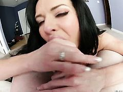 Kevin Moore asks her man to fuck her sweet mouth