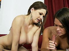 Abby Cross fulfills her sexual needs and desires with hard dicked dude