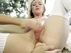 Bobbi Starr and her fuck buddy fuck like rabbits in anal scene