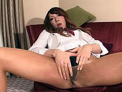 Karin Hanasaki has the most beautiful dick and is ready to expose it
