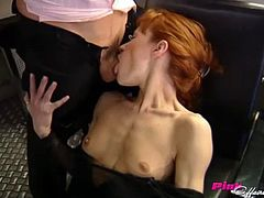Icy hot Tanya is bonked by her boss in an office missionary job