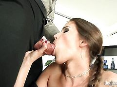 Silvie Deluxe gets slammed so hard that her wet hole will never be tight again