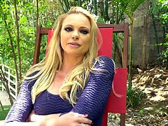 Briana Banks and the girl she fucks chat about sex