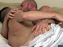 Matt Stevens prefers his stepson for gay encounter. In this family role-play gay encounter, Sean Cross did all the things starting from blowjob to anal, everything his father ordered. They kissed, hugged, cuddled and fucked and in my opinion, any role-play gay encounter can't be better than this.