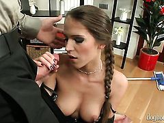 Silvie Deluxe gets banged so hard that her muff pie will never be tight again
