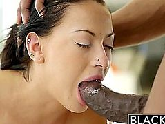 Blacked fearsome-menacing Legal Age Teenager Cutie Tries Interracial Anal HD Porn Episodes