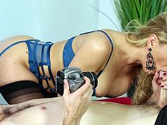 Visit official Fantasy Massage's HomepageMommy loves the step son's huge dick cracking her cherry in such modes, pleasing her and making her scream like a true porn model