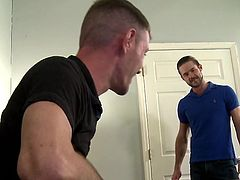 I had no idea my new work colleague is gay, until I found him masturbating in front of my computer. I was so excited, that I felt the urge to take his huge cock deep inside my mouth. We had an amazing experience and I can't wait to do it again.