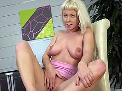 Visit official Wet And Puffy's HomepageSlutty young doll with amazing juggs, goes down on her pussy with dildos and a pussy pumps, prior for her to take good care of the neat butt hole