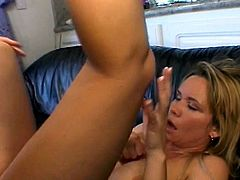 Horny blonde hot for action