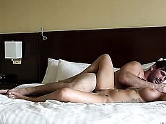 Blonde Harlow Harrison and Manuel Ferrara have oral sex for camera for you to watch and enjoy