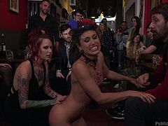 I organised a sex party at my home, and chose to be the slave of guests. I came naked in front of them and asked them to utilize my body for the satisfaction of their lust. One girl was spanking my ass, while one guy grabbed my hair, and shoved his dick in my mouth. She tied my hands, fingered me and....