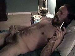 This is one of the first men I videotaped. I really loved this guy, and miss him a lot. John worked midnight shift for a small gas company and used to come by after work to get off. He enjoyed getting his dick sucked and I loved giving it to him. He likes to slow fuck your mouth for a long time, then hold your head back and watch his cum shoot into your mouth. I wasnt one to complain.