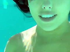 Blow in the pool