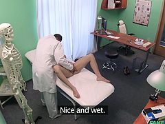 naive patient was fucked by the fake doctor