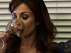 Kirsten Price is on the edge of nirvana with guys hard love stick in her mouth