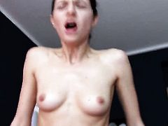 Arian Joy looking for a chance to get orgasm after hard pussy hole fucking