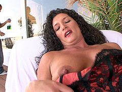 Gorgeous Terry Wild is finally ready for yet another dick ride