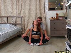 real flexible teen fucked