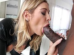 Stunning beauty Kleio Valentien, loves big dicks. But she wanted to push her tight pussy to the limits and for that she needs a massive black cock. Come in and see for yourself, how masterfully she handles that dick, like it's nothing. Kleio is truly an unbelievable babe!