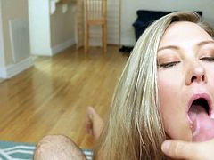 Visit official Paper Street Network's HomepageKinky blonde removes the undies for a naughty xxx fuck POV show then gets working with the cock up her mouth until the very end of the show